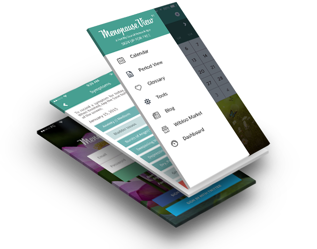 Menopause View Screens